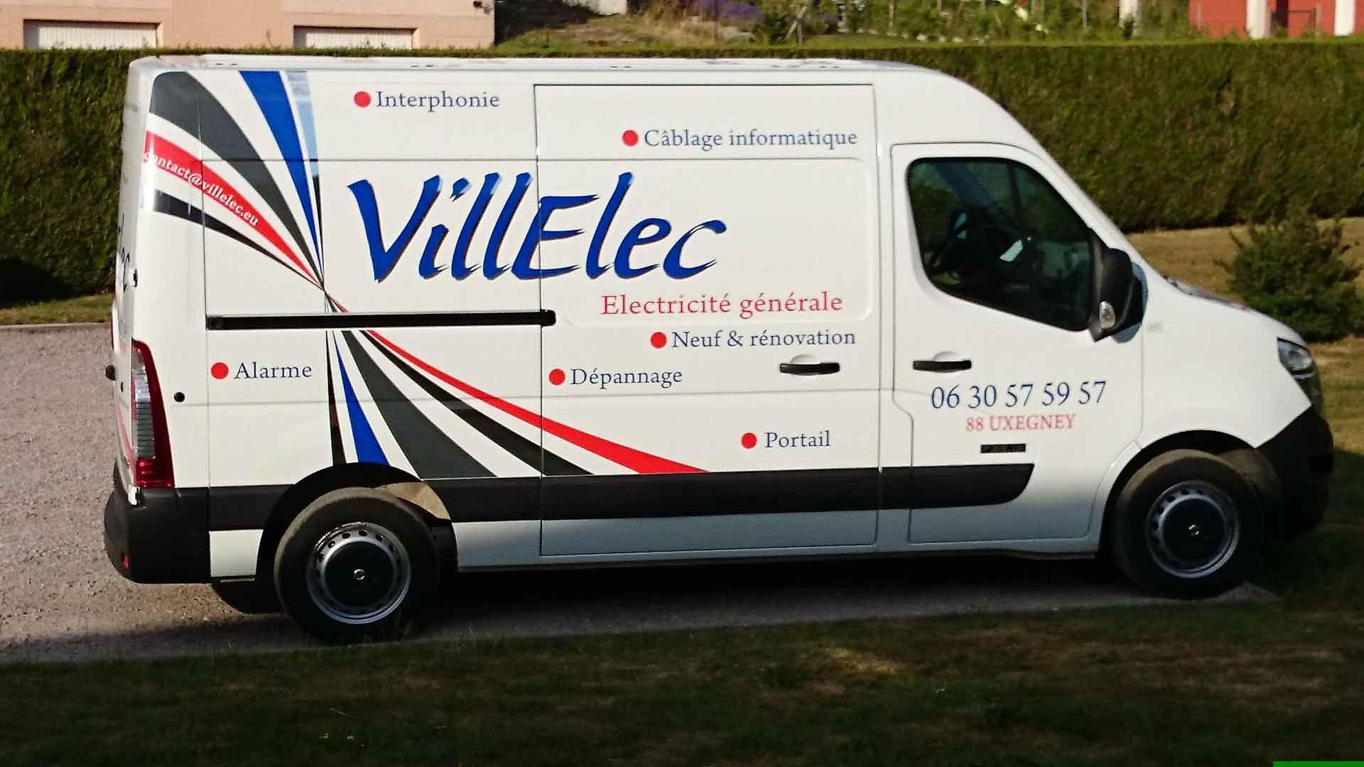 Électricien dans les Vosges